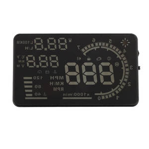 "5.5"" Large Screen Car HUD Head Up Display With OBD2 Interface Plug & Play A8 Car HUD Display"