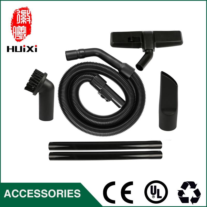 Diameter 35mm Black Flexible Expandable Hose+ Straight hose tube +suction nozzle for Vacuum Cleaner parts QZ14I QZ11C QZ11D etc