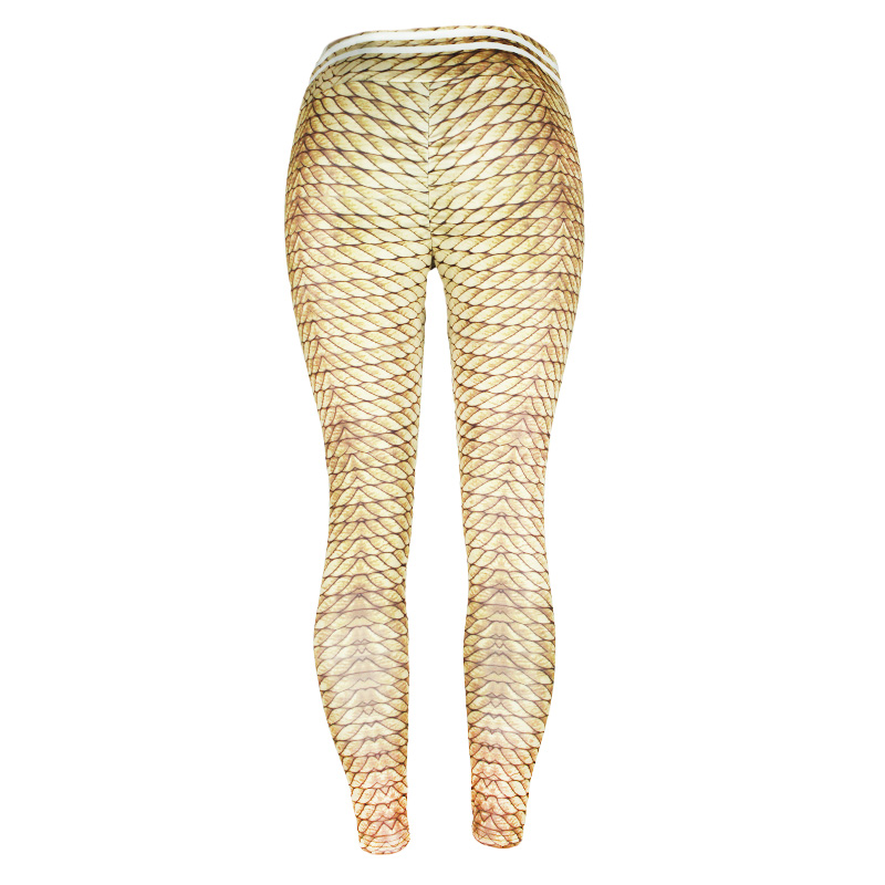 New Plus Size High Waist Gold Hemp Rope Leggings Women Sportswear Fitness Clothing 2019 Athleisure Sexy Legging Activewear Pants