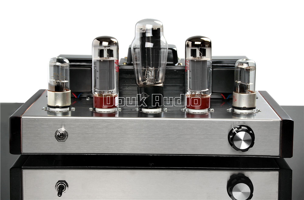 Music Hall  Latest 6N9P+EL34B Single-ended Class A  Vacuum Tube Preamp Amplifier 13W+13W HiFi Audio Amp Purely Handmade music hall latest appj assembled fu32 tube amplifier audio single ended class a power amp board hifi diyer free shipping