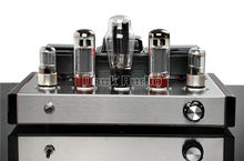 Music Hall  Latest 6N9P+EL34B Single-ended Class A  Vacuum Tube Preamp Amplifier 13W+13W HiFi Audio Amp Purely Handmade