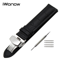 19mm 20mm Genuine Leather Watch Band For Tissot PRC200 T17 T41 T461 T014 T049 T067 T095