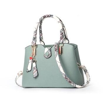 Women Handbag Pu leather 2019 office lady casual fashion work party shoulder crossbody hand travel bags female