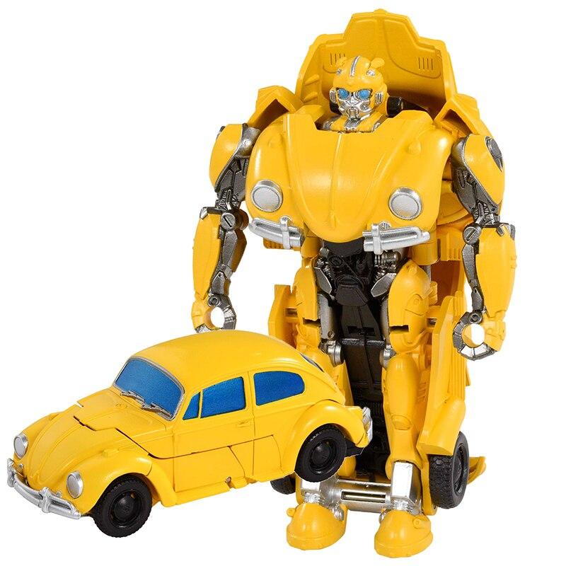 Image 4 - トランスフォーマー変形ロボット少年のおもちゃ変換車オプティマスプライムバンブルビーロールバーアクションフィギュア知育玩具ギフト -     グループ上の おもちゃ