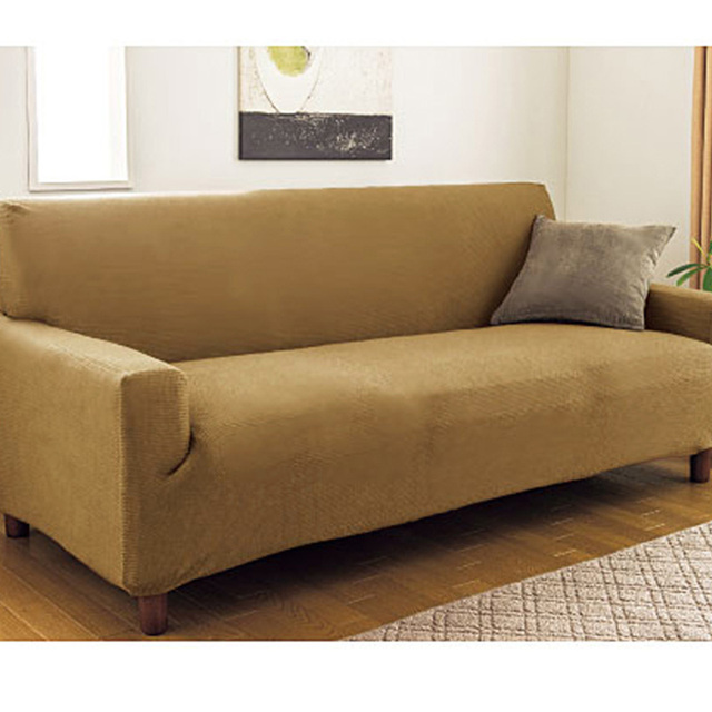Amazing Waterproof Slipcover Sofa Cover Elastic Cover All Inclusive Combination  Three Seat Sofa Covers Customize