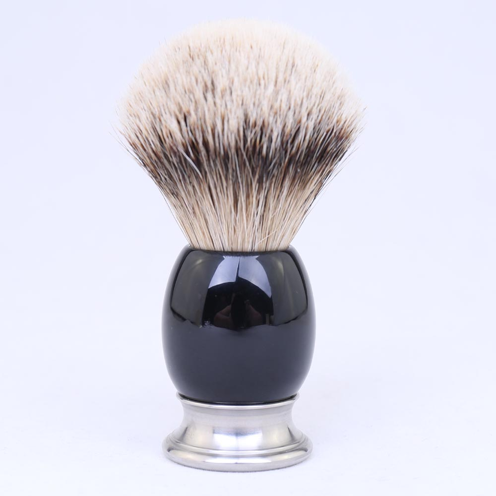 100% Pure Silvertip Badger Hair Hand-crafted Shaving Brush for Shave Barber Tool Brush Manufacturers