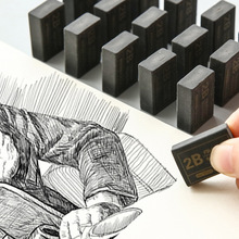 2 шт. 2B карандаши ластик для рисования эскиз Ластик резиновый ластик для карандаша офисные школьные принадлежности художественный Рисунок художника студенческие канцелярские принадлежности