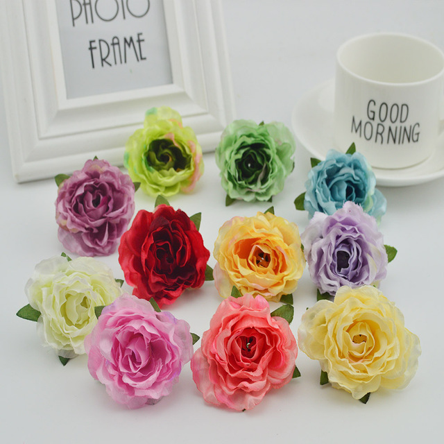5pcs artificial plastic flowers cheap for wedding home decora bridal 5pcs artificial plastic flowers cheap for wedding home decora bridal accessories clearance diy wreaths gifts box mightylinksfo