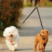 Coupler Lead Duplex-Safety-Splitter Walking-Leash Dogs Double-Dog 3-Colors Nylon 2-Way