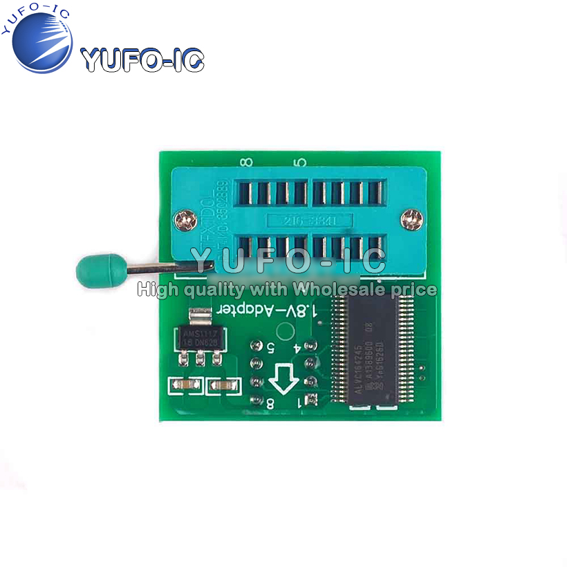 <font><b>SPI</b></font> <font><b>Flash</b></font> SOP8 <font><b>1.8V</b></font> conversion seat DIP8 conversion tablet motherboard MX25 W25 <font><b>1.8V</b></font> <font><b>Adapter</b></font> Board image