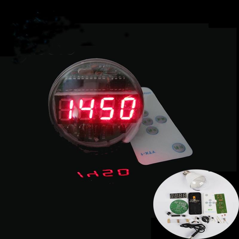 Buy a 5-way LED Alarm Clock DIY Kit - Electronic Kits - Electro Labs