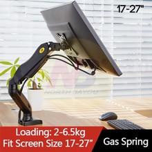 """F80 Monitor Desk Mount Supporto 17 27 """"Monitor Del Computer Braccio di Supporto Molla A Gas Full Motion Flessibile TV Monitor montare Carico 2 6.5kg"""