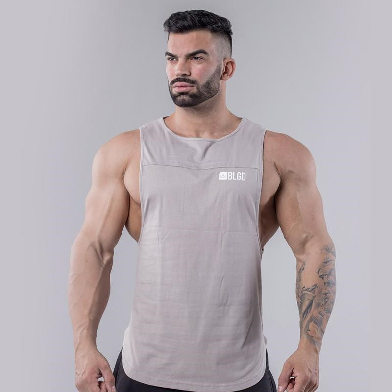 gym   tank     top   canotte bodybuilding sleeveless fitness cotton shirt man for men mens   tank     tops   shirt mens clothing clothes singlet