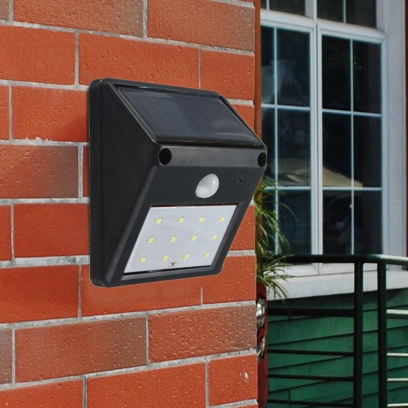 Waterproof 12 LED Solar Light Powered Wireless PIR Motion Sensor Outdoor Garden lights Lawn Landscape Yard Security Wall Lamp