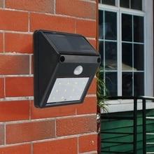 Waterproof 12 LED Solar Light Powered Wireless PIR Motion Sensor Outdoor Garden