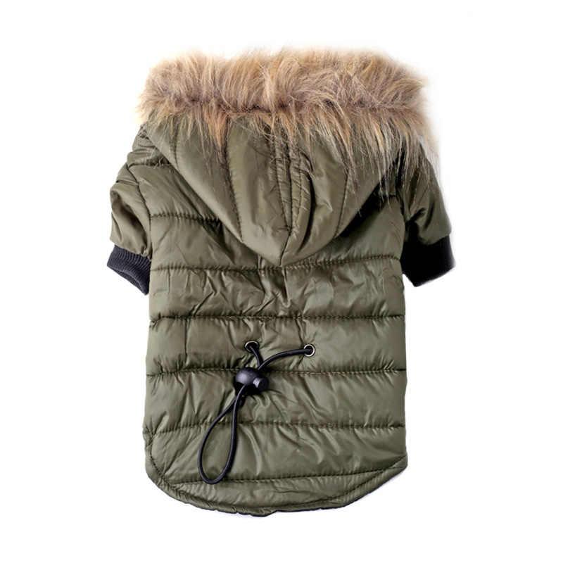 Chaud chien vêtements petit chien manteau veste chiot vêtements pour Chihuahua Yorkie chien hiver vêtements veste animaux de compagnie produit fournitures