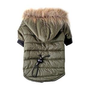 Image 3 - Pawstrip XS XL Caldo Piccolo Cane Vestiti di Inverno Del Cane del Rivestimento del Cappotto Cucciolo Rifornisce Per Chihuahua Yorkie Vestiti Animali Domestici Vestiti Del Cane di Inverno