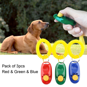 3 sztuk zestaw Pet Dog Training Clicker z Paskiem Na Rękę Duży Przycisk Pies Pociąg Plastikowe Przenośne Dźwięk Clicker Dla Psa szkolenia Dostaw tanie i dobre opinie KIMHOME PET Z tworzywa sztucznego Szkolenia Clickers
