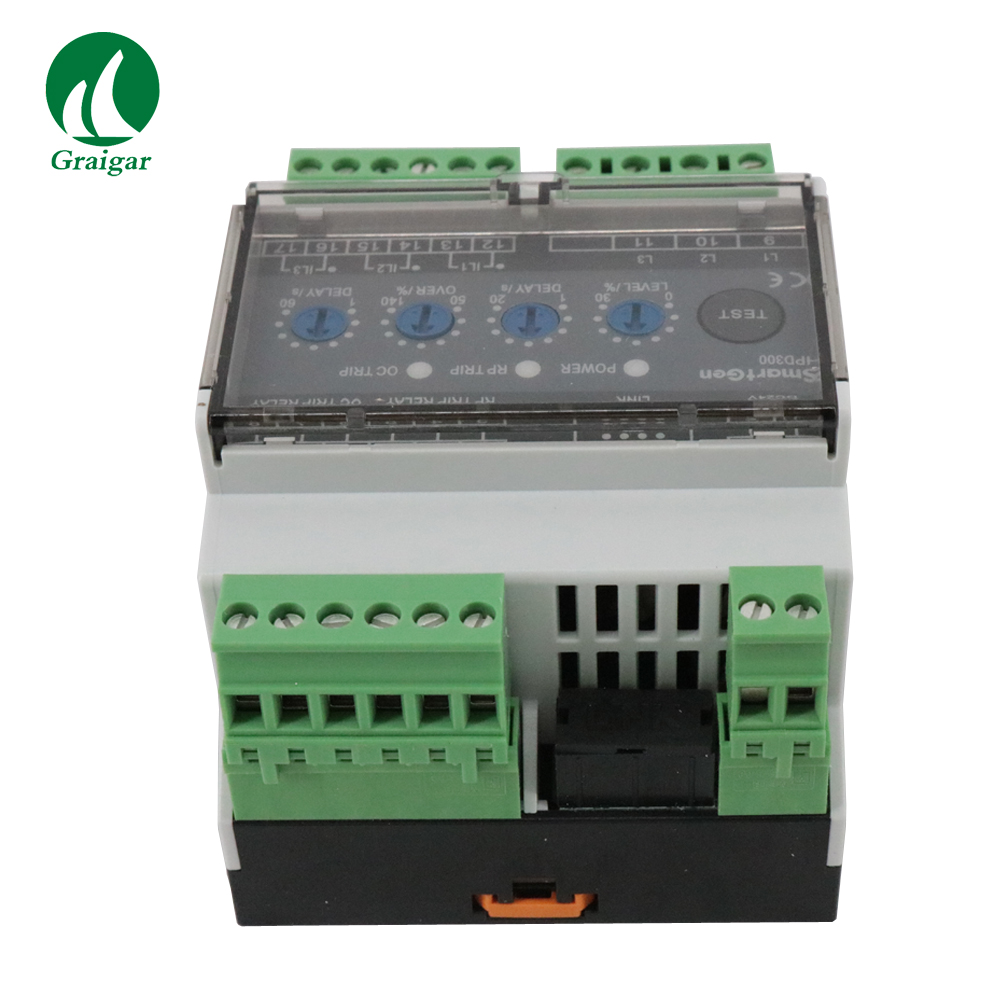 US $155 82 |HPD300 Reverse Power Protection Relay Collects 3 phase Voltage,  3 phase Current, Frequency and Power Parameters-in Level Measuring