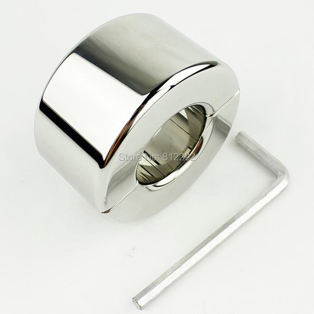 980G Bola Escroto Camilla de Acero Inoxidable Dispositivo de Castidad Masculina Dispositivo de Servidumbre Polla anillo de Juguetes Sexuales Adulto Producto