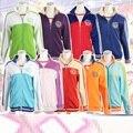 Hanayo LoveLive Sports Wear brasão Nozomi Tojo Eli Nico Rin umi maki girls love live trajes cosplay revestimento Do Hoodie Jaquetas algodão