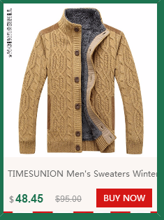 Dropwow TIMESUNION Men s Knitted Sweaters Cardigans Collar Winter ... 80f714569
