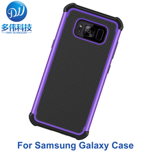 Shockproof Protective PC Hard TPU Soft Rubber Football Case For Samsung Galaxy S8 Plus S3 4