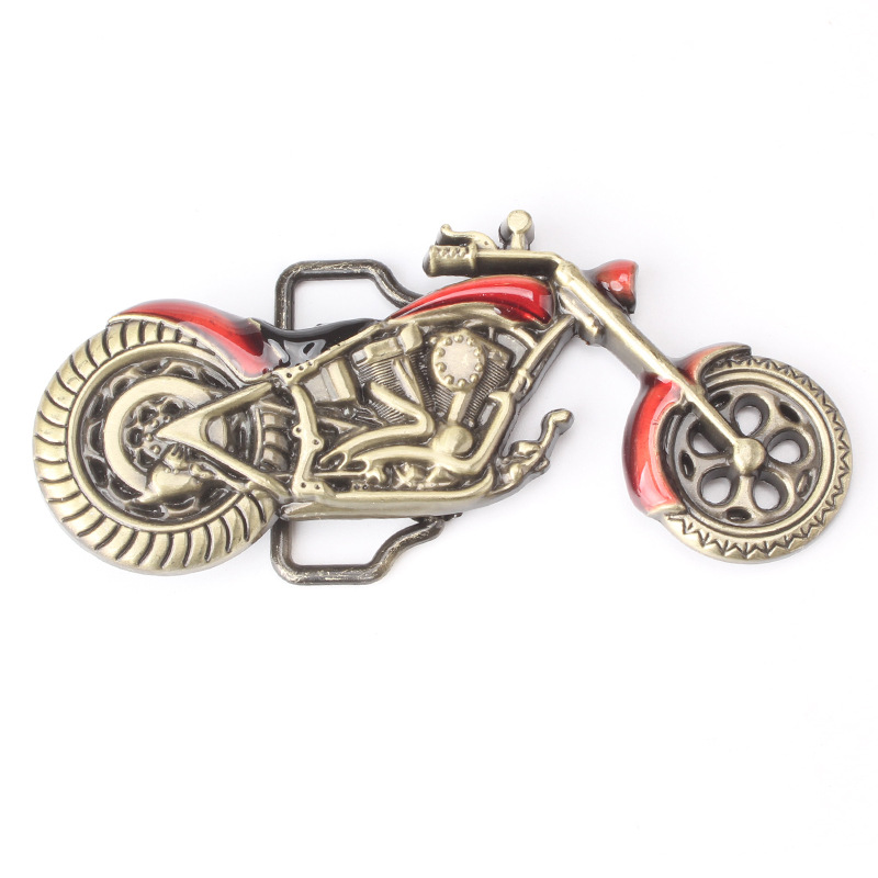 Decorative Buckle Motorcycle Modelling Belt Buckle Suitable For 3.8cm Width Of The Belt Metal Belt Buckle Belt Accessories