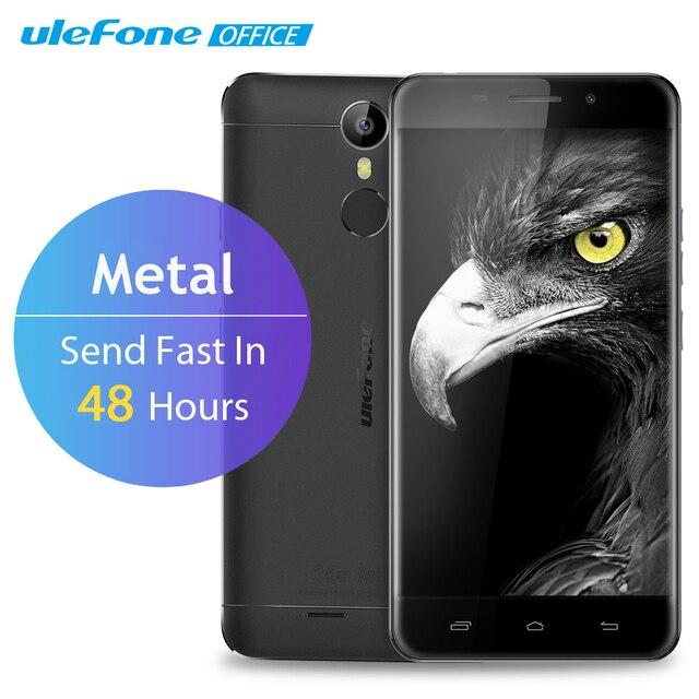 Ulefone Metal 4G Mobile Phone 5 inch HD IPS MTK6753 Octa Core Android 6.0 3GB RAM 16GB ROM 8MP Glonass Fingerprint ID Smatphone