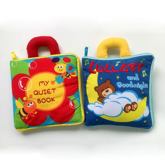 3 M + presente do Bebê Livros de Pano livro tranquila Brinquedo Desenvolvimento Precoce brinquedos Educativos livro brinquedos jouet libros juguetes bebes cadeau