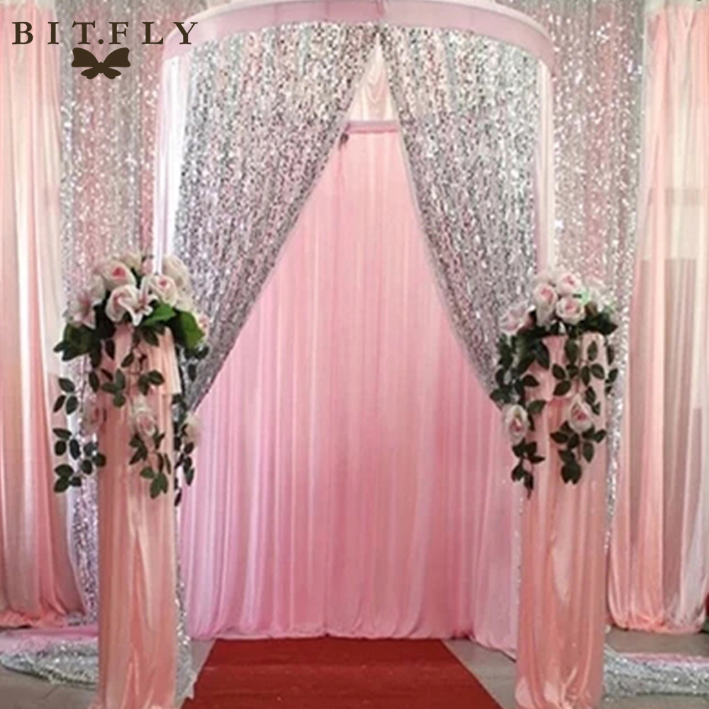 bitfly us stock sequin fabric diy for photography backdrop tablecloth overlay christmas wedding. Black Bedroom Furniture Sets. Home Design Ideas