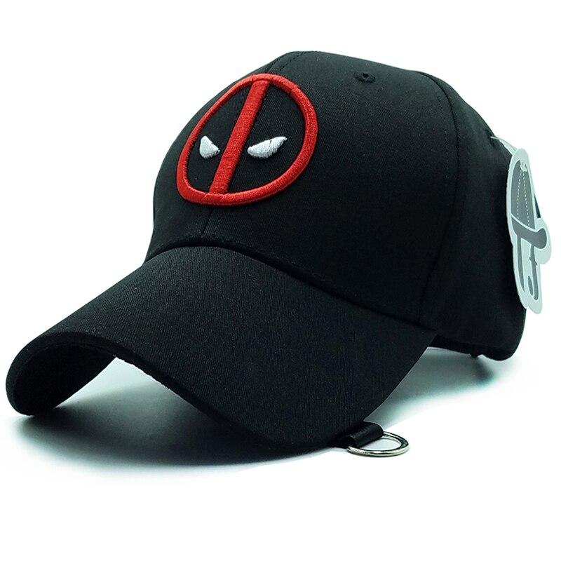 Prix pour 2017 nouveau unisexe 100% coton extérieur casquette de baseball deadpool gorra planas broderie snapback mode sport chapeaux