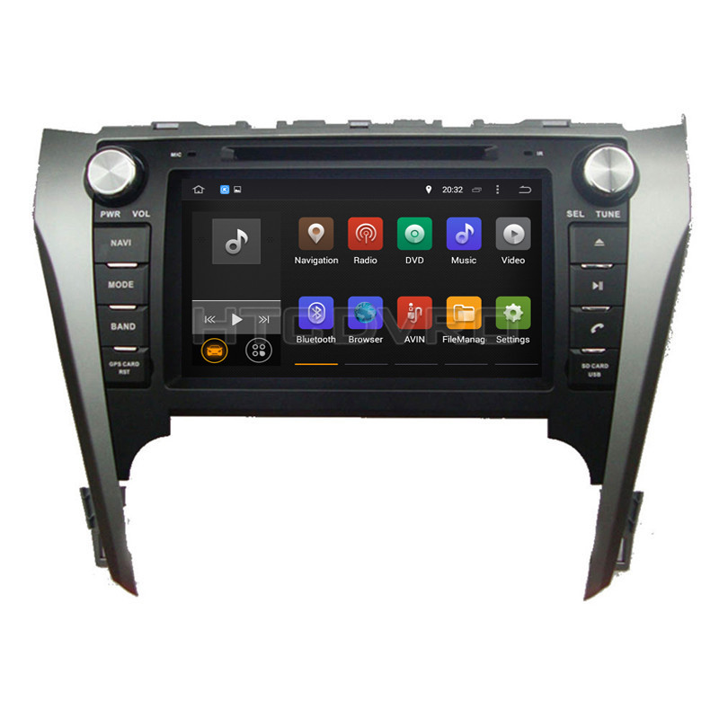 YMODVHT 8inch 4G Octa Core Android 8.0 7.1 Car DVD Player for Toyota Camry 2012 2013 2014 GPS Auto RDS Radio Audio Video Stereo