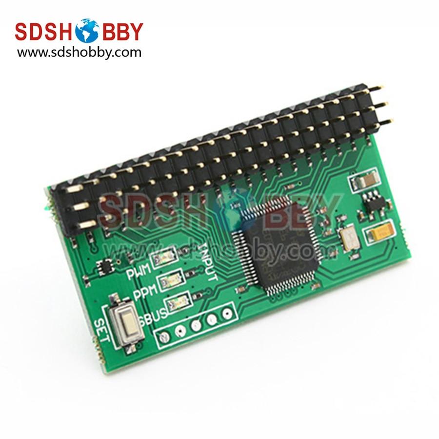 RMILEC High Precision PWM PPM SBUS Signal Converter V2 Signal Conversion