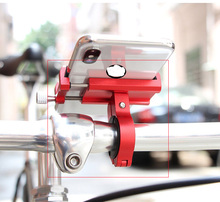 Universal Auto Smartphone Mount Holder Stand Bicycle Mobile Phones Bracket Motorcycle Accessories 3 Colors