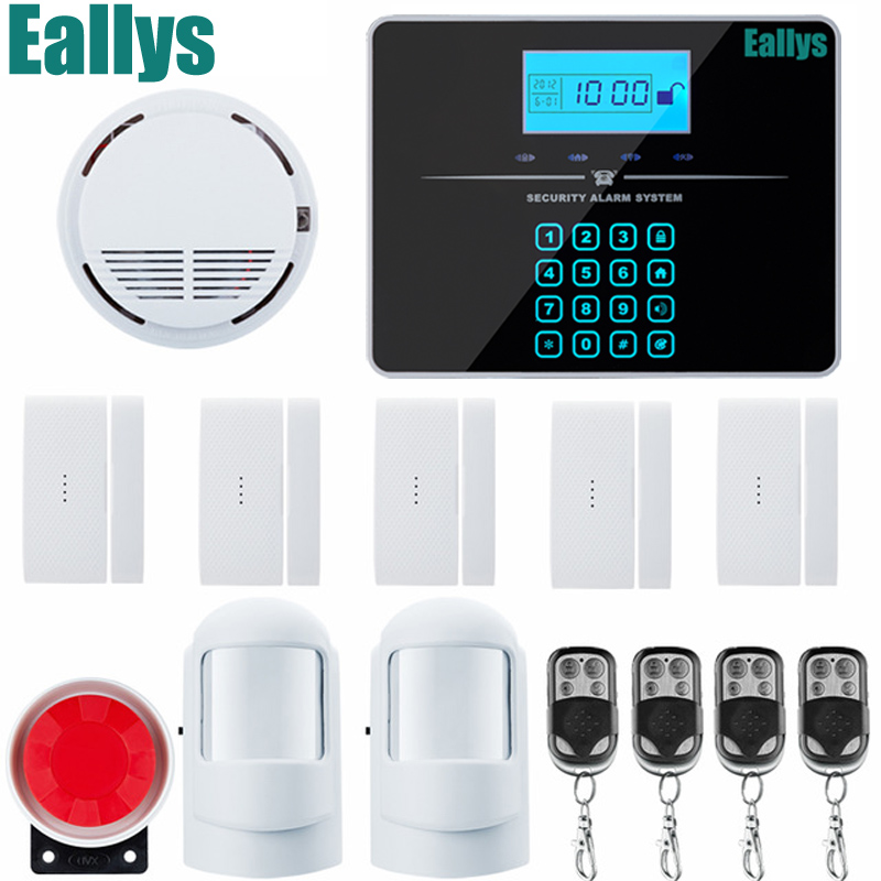 Wireless/wire GSM Alarm System For Home Wireless Security Alarm System with Door Sensor Alarm Systems Security