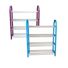 Easy removable plastic shoe rack with three hundred forty-five multilayer dormitory rental Cheap