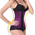 Women Long Torso Waist Trainer Cincher Tummy Slimmer Breathable Shapewear Girdle Waist Trainer Plus Size Slimming Belt