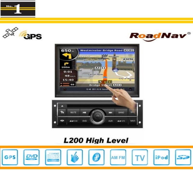 Para mitsubishi pajero sport 2008 ~ 2013 sistema de navegación del gps del coche