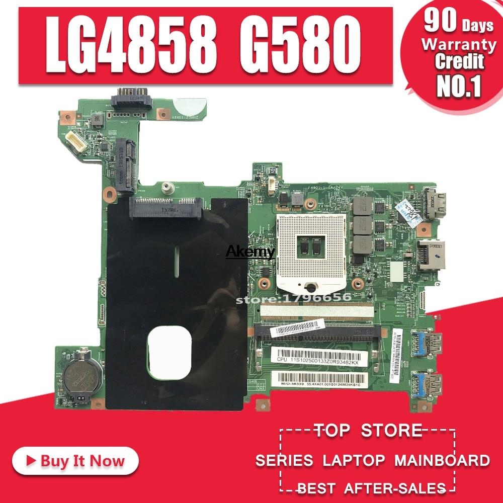 LG4858 For Lenovo G580 LG4858 Laptop motherboard LG4858 UMA MB 12206-1 mainboard Test GM original motherboardLG4858 For Lenovo G580 LG4858 Laptop motherboard LG4858 UMA MB 12206-1 mainboard Test GM original motherboard