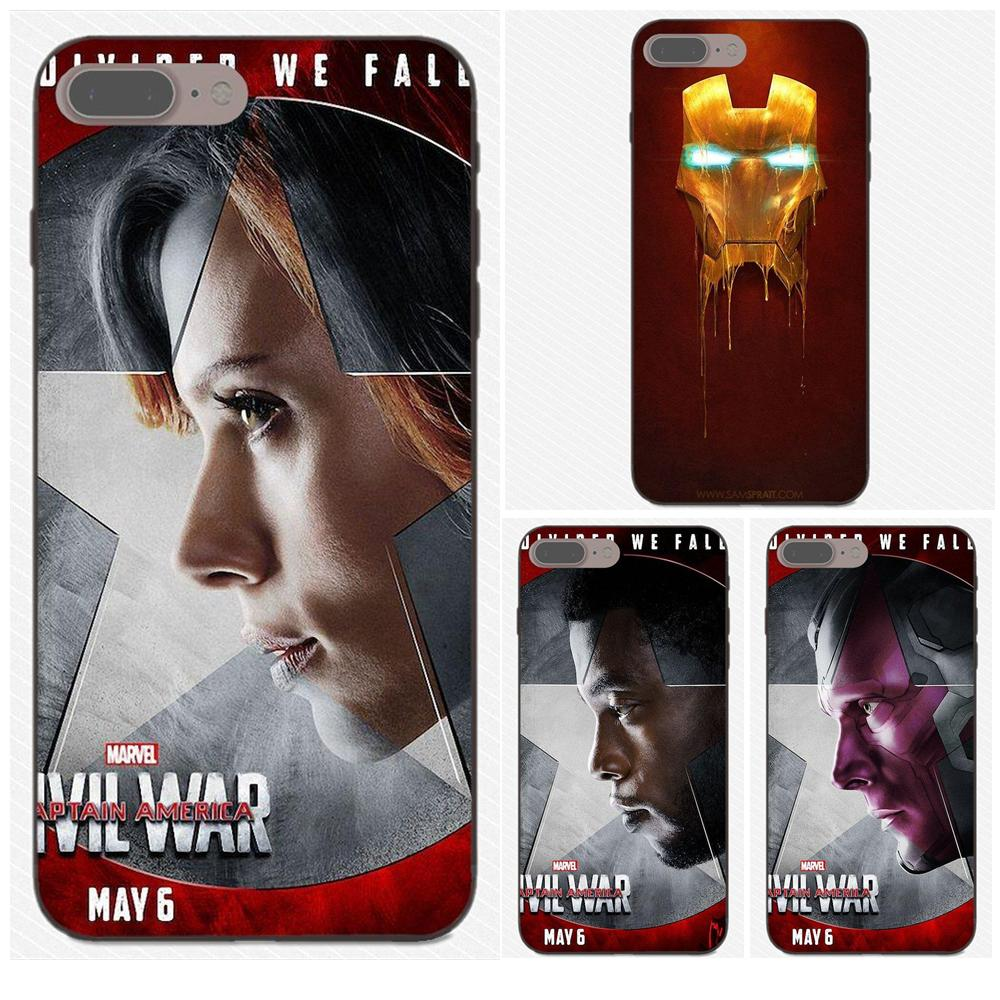 Soft Cover Für <font><b>Galaxy</b></font> C5 C7 J1 J2 J3 J330 J5 J6 J7 J730 2017 Ace Core Duo Max Mini plus Prime Pro Die Avengers Iron Man Maske image