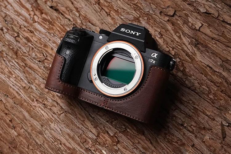 genuíno vídeo meio saco câmera bodysuit para sony a7ii mk2 a7rii câmera