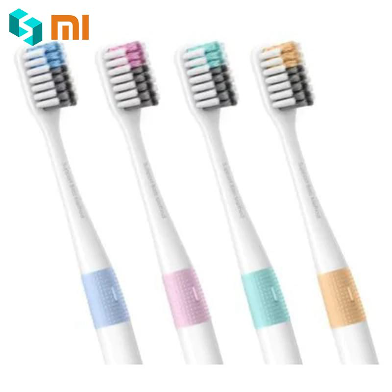 Good Quality 4PCS Xiaomi Doctor Bei Bass Tooth Mi Brush Eco-friendly Tooth Handle Manual MI brush with Travel Box