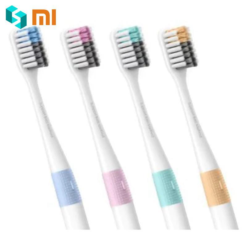 Gute Qualität 4PCS Xiao mi Arzt Bei Bass Zahn mi Pinsel Umweltfreundliche Zahn Griff Hand mi pinsel mit Reise box