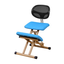Adjustable Kneeling Chairs Ergonomic Kneel Chair Adjustable Stool for Home and Office Kneeling Computer Chair with Backrest