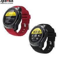 Часы Авиатор светодиодный Сенсорный экран GPS Поддержка sim карты сердечного ритма сна метр шаги странно открытый пневматические Спорт Смарт