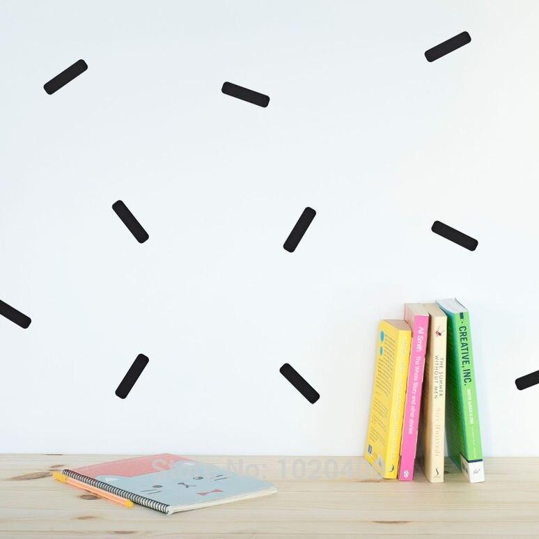 geometrie minteken muurstickers stickers voor studeerkamer decoratie - Huisdecoratie