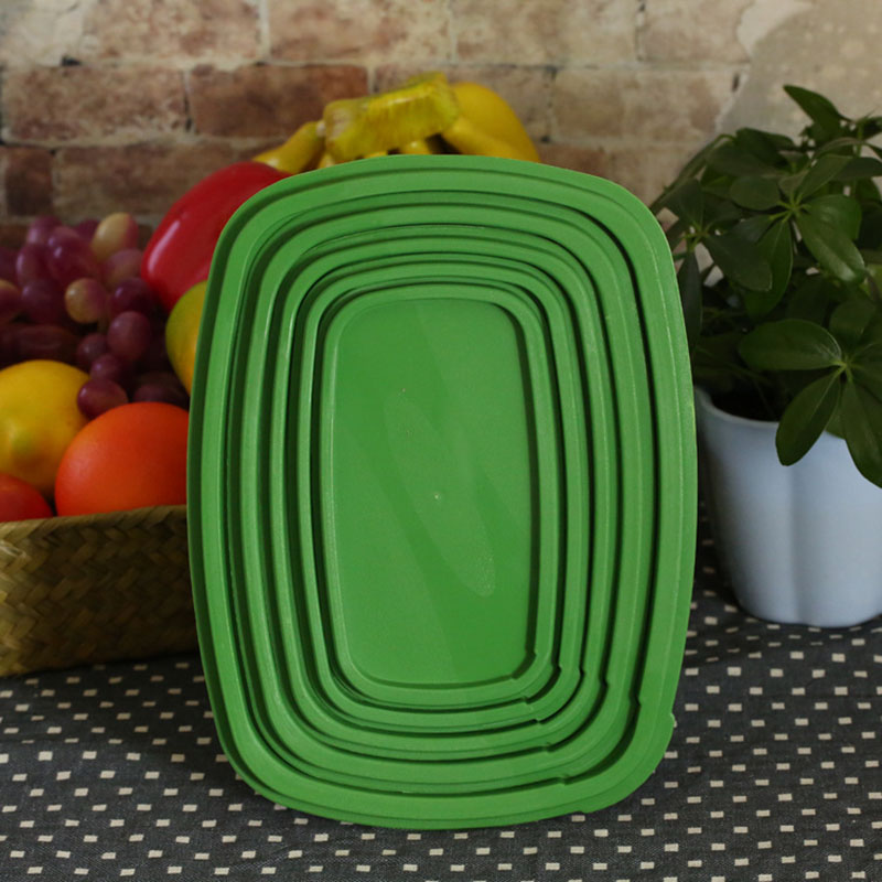 Bon Drop Shipping 5pcs Stay Fresh Green Container Kitchen Container Keep Fresb  Longer Fruits Vegetables Storage Bins Boxes Crisper In Bottles,Jars U0026 Boxes  From ...