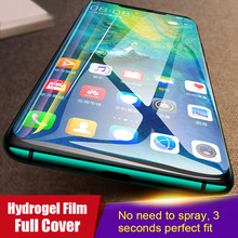 10D For Huawei P20 P30 Pro Mate 20 Lite Soft Hydrogel Film Full Screen Protector Honor 10 8X 9 V20 Protective