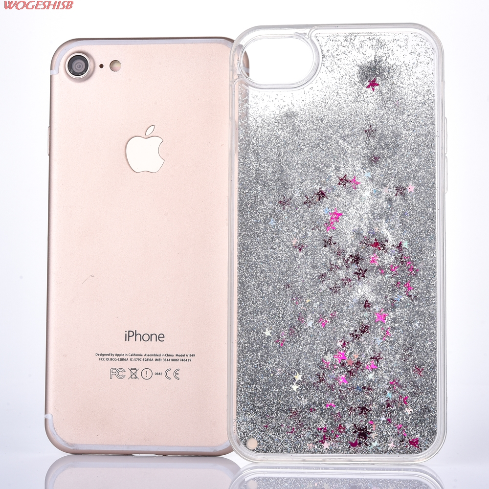 NOVA Dinâmica Líquido Água Estrela Areia Movediça Caso de Telefone de  Plástico Transparente Tpu Borda capa para o iphone SE 5 5S 6 6 S 7 8 4.7  além de 5.5 814547593f